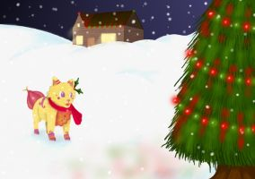 Winter drawing contest by 32d