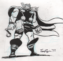 Thor sketch by mistermuck
