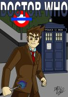 The 10th Doctor by Drew0b1