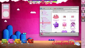 my pink desktop by cindirella19
