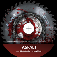 CD for horror book 'Asfalt' by petrsimcik