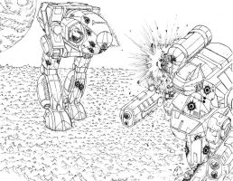 Battletech: Showdown 2 by Steel-Raven