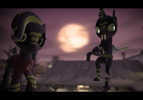 GMOD: Inkquill the Changeling [DL] by BluecheetahX3