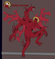 Marvel future: Spider-carnage by splaty
