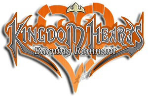 Kingdom Hearts 1 - Burning Remnant: Title Logo by BellOfVictory
