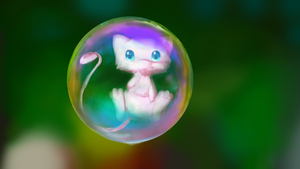 Bubble creature by Cllaud
