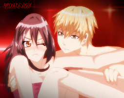 Misaki and Usui by CherryDesire