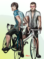 bicycle dating by Lhax