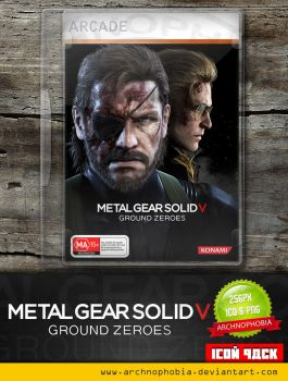 Metal Gear Solid V - Ground Zeroes (Icon Pack) by archnophobia