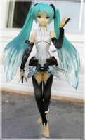 Miku append - Hello dear by Karinui
