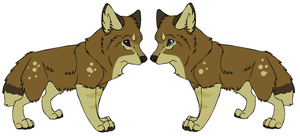 Wolf Adoptable Auction by MortesHound