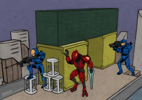Halo: I are Helping by devillo