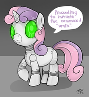 sweetiebot by Milk4ppl