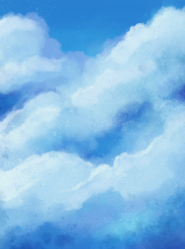 Stock 31: Painted Clouds by SilverSugar