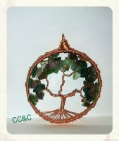 Shades Of Fall - TOL Pendant by LadyAriessTemptra