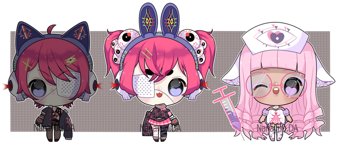 Adopts Kawaii Horror  - [# 2  OPEN ] by Nanayuu