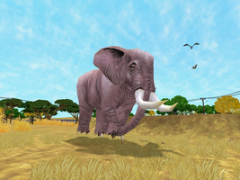 Zoo Tycoon 2: African Elephant (Male) by Chronicle-King