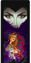 Wheel of Fortune Maleficent by milesboard