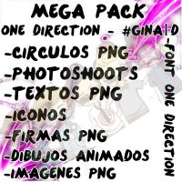 Mega Pack One Direction by Gina1D