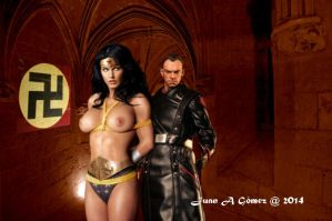 Wonder Woman & Red Sull by totoletoto