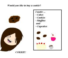 Would anybody like to buy a cookie? by GrimTalesLover14