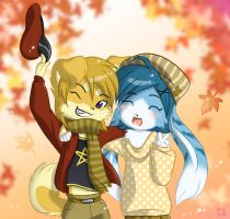 Autumn by nek0bunny
