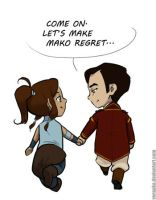Let's Make Mako Regret... by verauko
