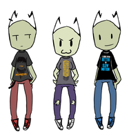 A.H Shirts by InvaderMas