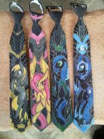 Fully painted pony ties by raptor007