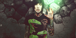 Oliver Sykes - by yuri008