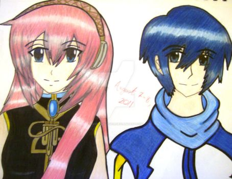 Luka and Kaito by SheikahLover