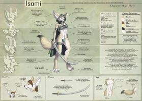 Isomi - Character Sheet by Ulario