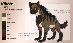 Chiron - Feral Reference Sheet by Acaris