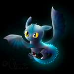 HTTYD: Toothless by Cleasia