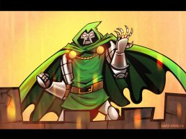Dr. Doom by hanzthebox