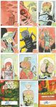 MARS ATTACKS SKETCHCARDS 31-40 by future-parker