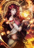 Fire queen by Sgt-lonely