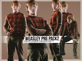 Weasley PNG Pack2 by smashingdaisies