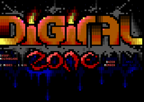 Digital Zone BBS Ansi by roy-sac
