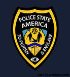 Police State America by greymattercreations3