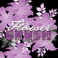 Flower Brush By:Marselle0810 by marselle0810