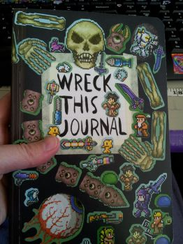 Wreck this Journal 2015 - front cover by kiera-oona