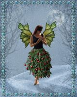 Christmas Fairy by Shirley-Agnew-Art