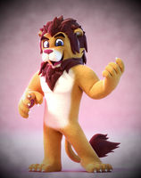 Commission: Sid Lion! by SmashingRenders
