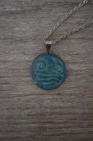 Water Bending Necklace by Black-Rose1440