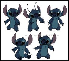 _.Stitch Sketches._ by Metros2soul