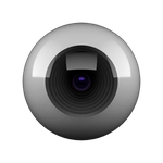 camera lens icon by abdoubouam
