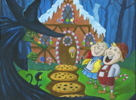 Hansel and Gretel by johnstiles