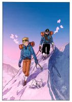 Tintin in Tibet (Colour) - LSCC 2012 by willortego