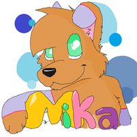 Mika Con. Badge by afghan-bleat-yeah